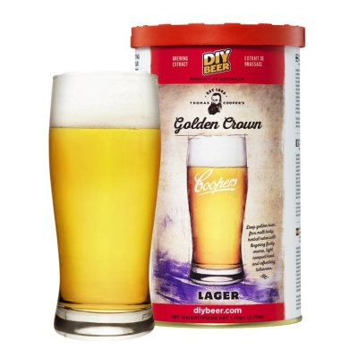 Наборы Coopers Golden Crown Lager
